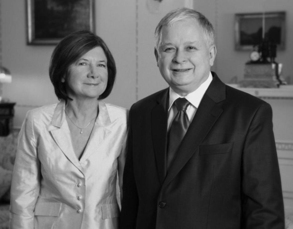 First Lady Maria Kaczyńska and President of the Republic of Poland Lech Kaczyński. Photo of Our Journal