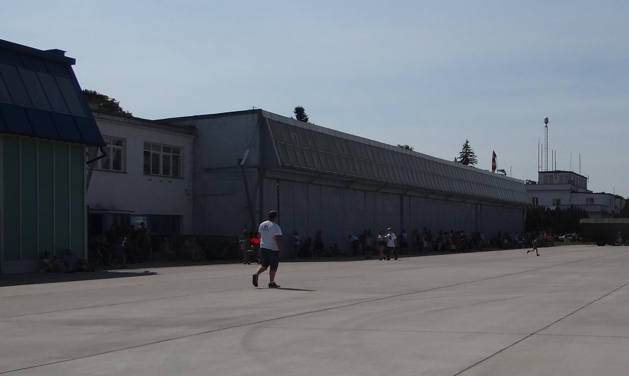 Hangar - Dęblin Airport 2017. Photo by Karol Placha Hetman