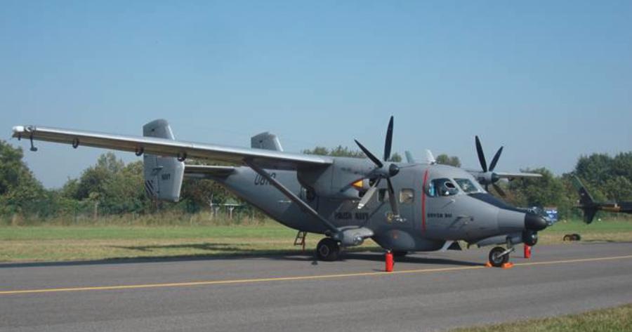PZL M-28 Bryza bis nb 0810. Radom 2011 rok. Zdjęcie Karol Placha Hetman