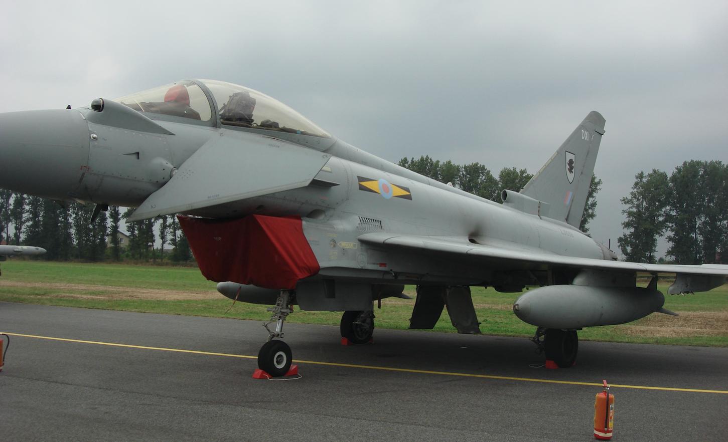 Eurofighter Typhoon nb DXI. Great Britain. 2009 year. Photo by Karol Placha Hetman