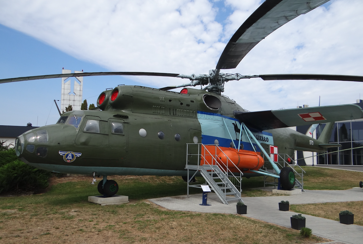 Helicopter Mil Mi-6 A, registration SP-ITB, nb 670.2017. Photo by Karol Placha Hetman