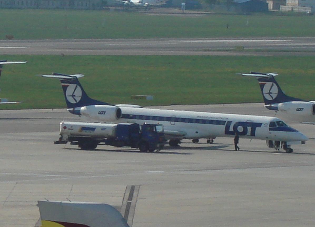 Embraer ERJ-145. 2009 year. Photo by Karol Placha Hetman