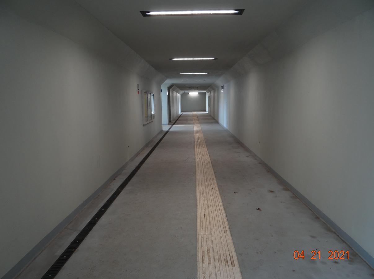 Kraków Mydlniki Tunel. 2021 rok. Zdjęcie Karol Placha Hetman