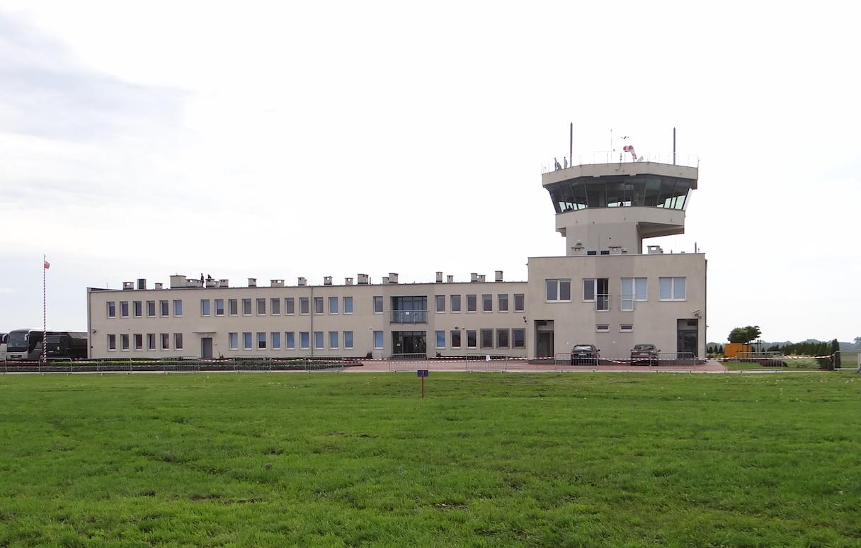 New flight control tower. 2019. Photo by Karol Placha Hetman