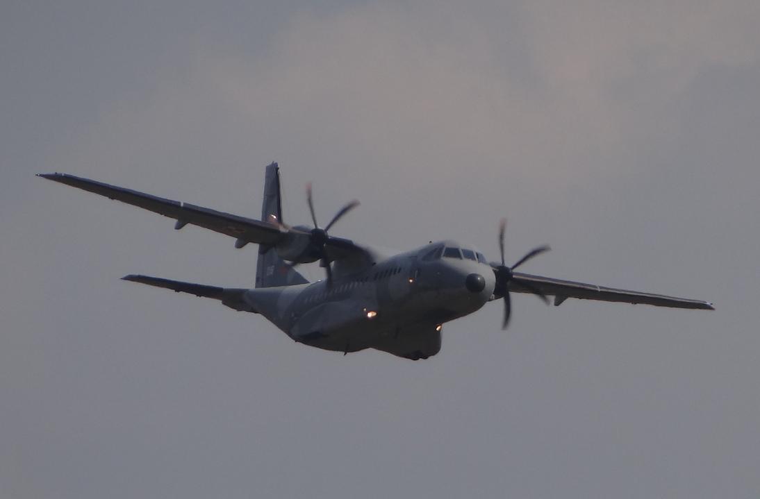 CASA C-295 M nb 016. Rzeszów 2019 rok. Zdjęcie Karol Placha Hetman