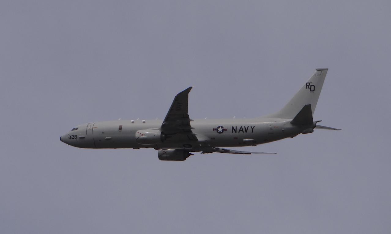 Boeing P-8 Poseidon. 2020 rok. Zdjęcie Karol Placha Hetman