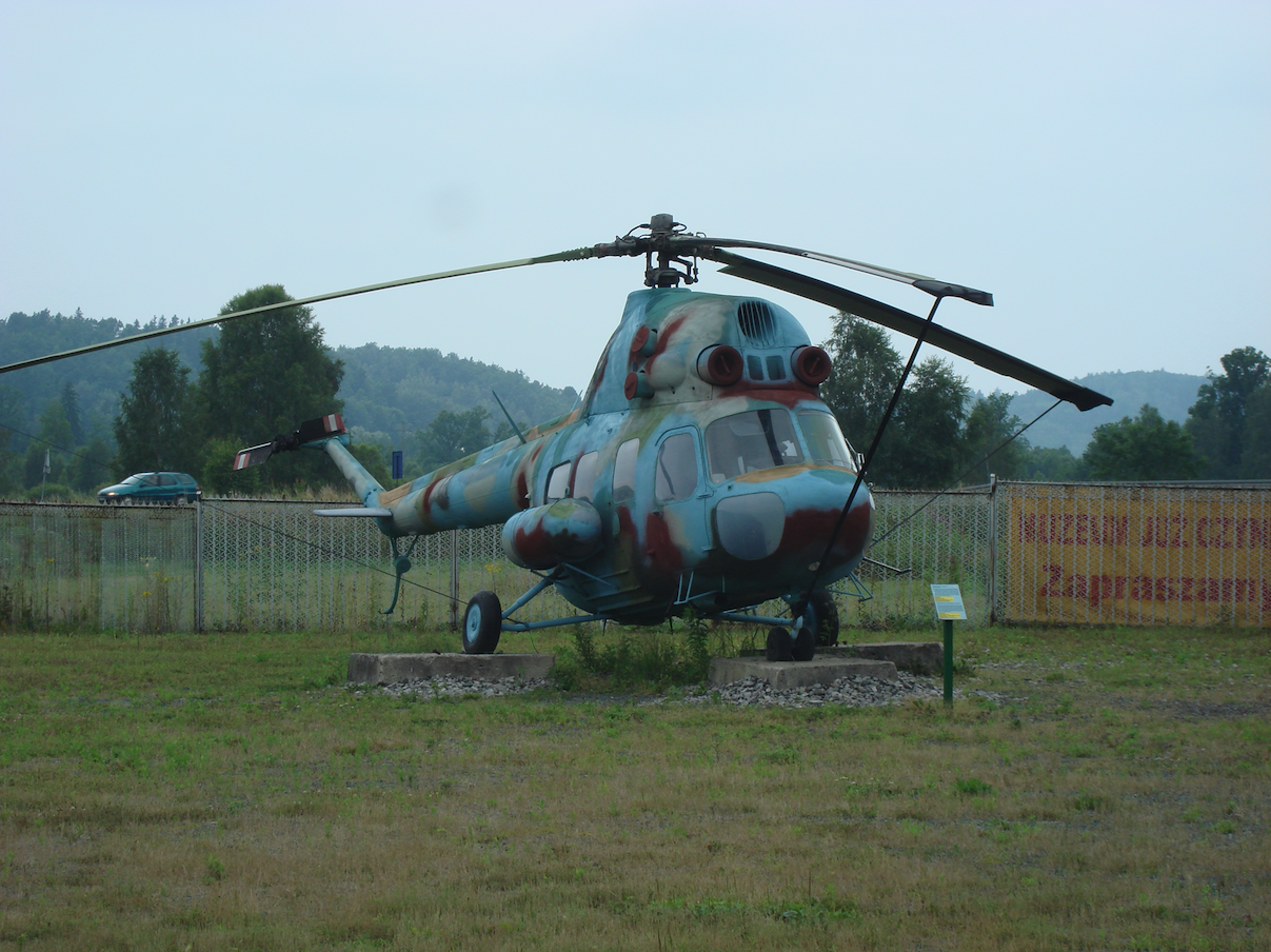 PZL Mi-2. Jelenia Góra 2010 rok. Zdjęcie Karol Placha Hetman