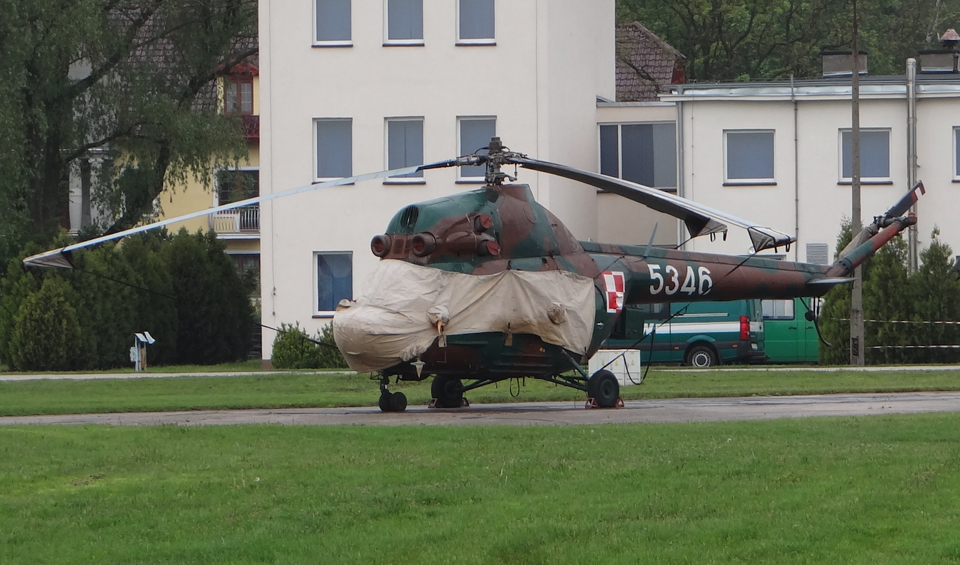 PZL Mi-2 nb 5346. 2019 rok. Zdjęcie Karol Placha Hetman