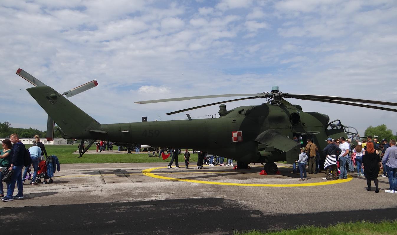 Mil Mi-24 nb 459. Inowrocław. 2019. Photo by Karol Placha Hetman