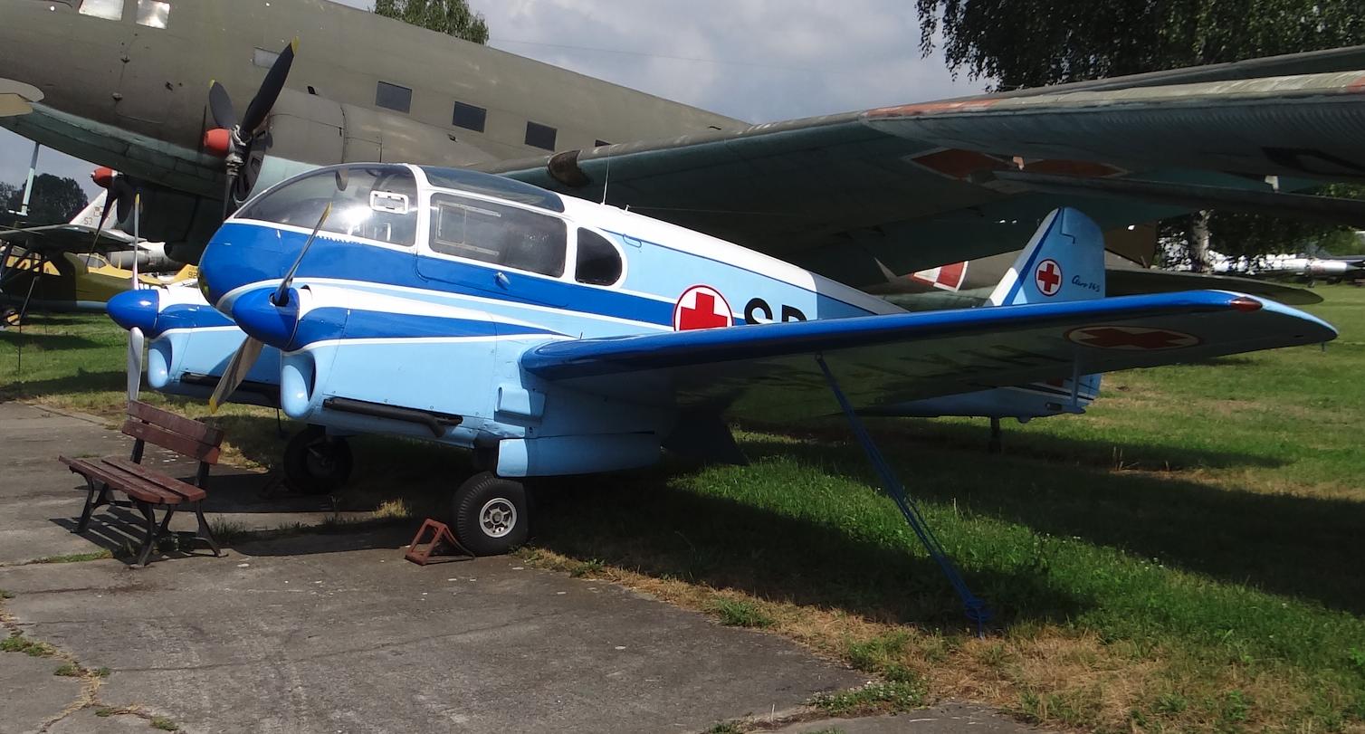 Aero Ae-45 SP-LXH. 2019. Photo by Karol Placha Hetman
