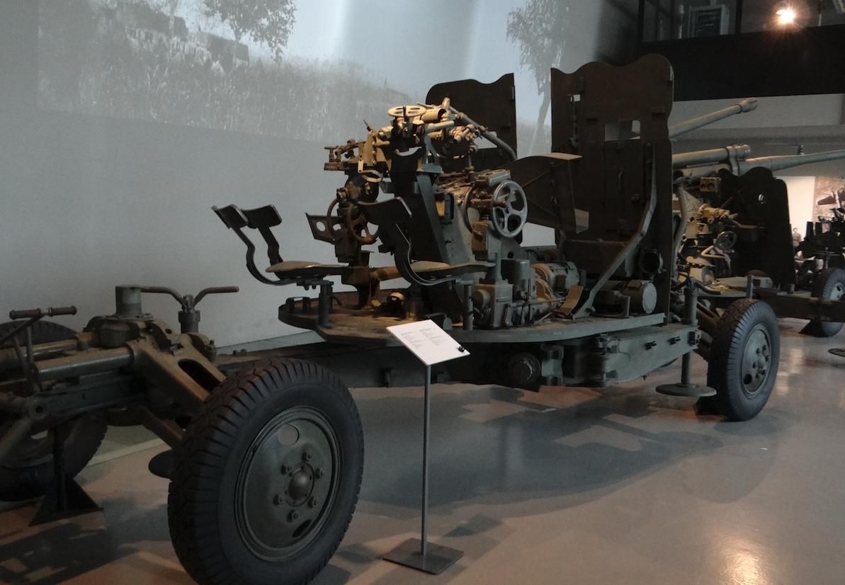 Armata przeciwlotnicza S-60 kal.57 mm. Zamość 2019 rok. Zdjęcie Karol Placha Hetman