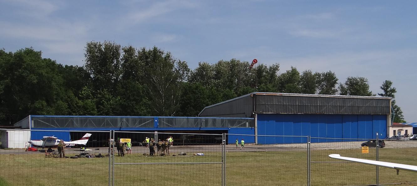 Historic hangars. Muchowiec 2019. Photo Karol Placha Hetman