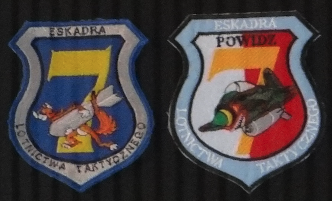Godło 7 Eskadry Lotnictwa Taktycznego