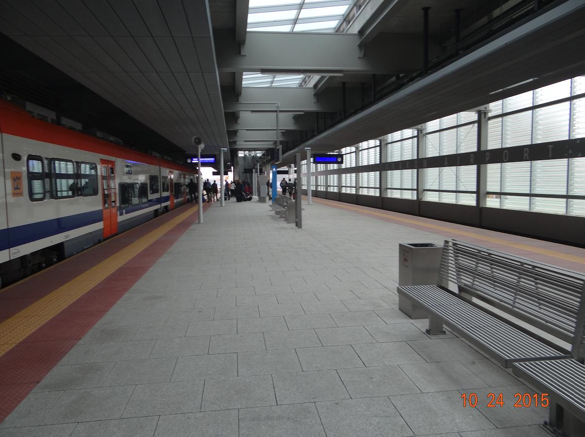 Stacja Balice Lotnisko. 2015 rok. Zdjęcie Karol Placha Hetman