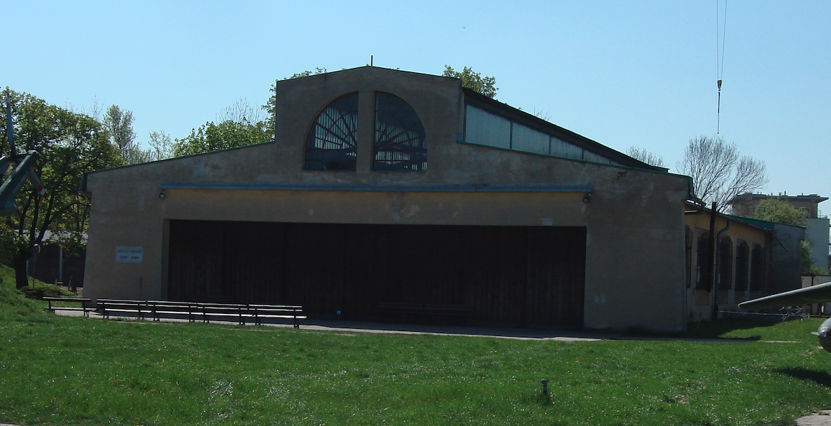 Hangar of the Polish Aviation Museum from 1993. Czyżyny 2009. Photo by Karol Placha Hetman