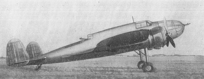 PZL-37 B Łoś. 1938 year. Photo of LAC
