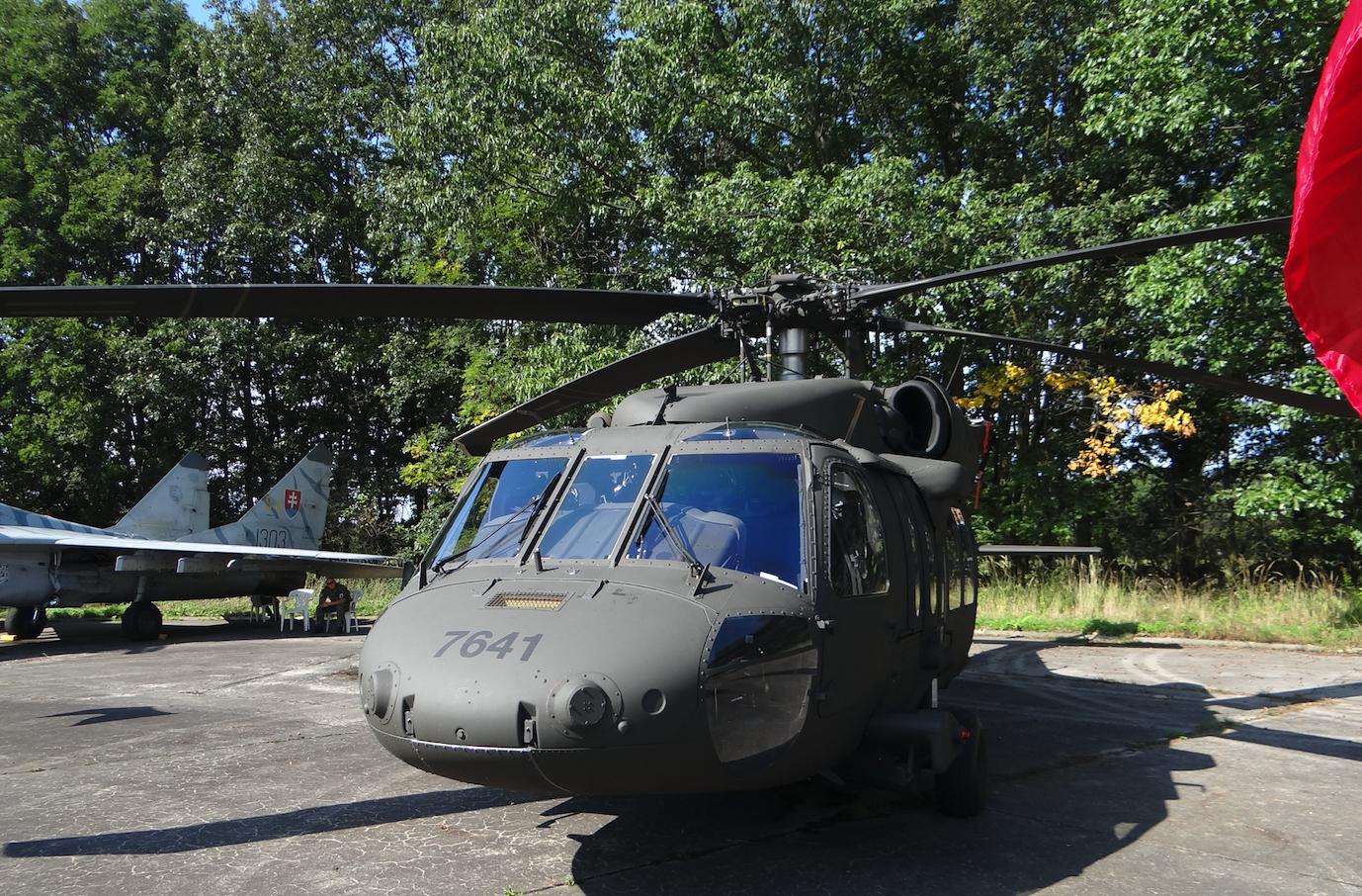 Black Hawk USAF. 2018. Photo by Karol Placha Hetman