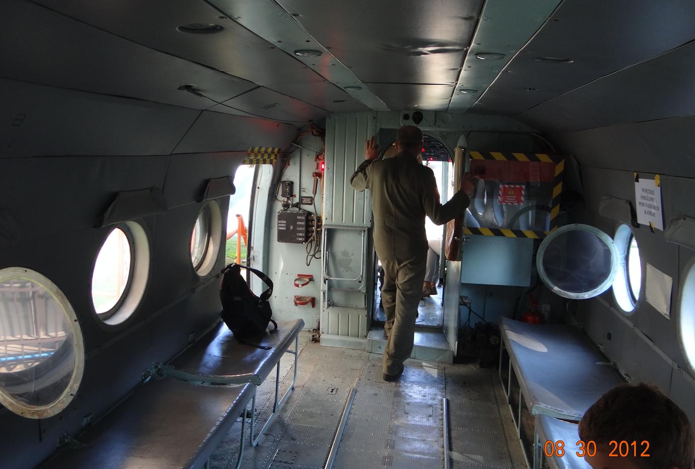 Ładownia śmigłowce Mi-8 T. 2012 rok. Zdjęcie Karol Placha Hetman
