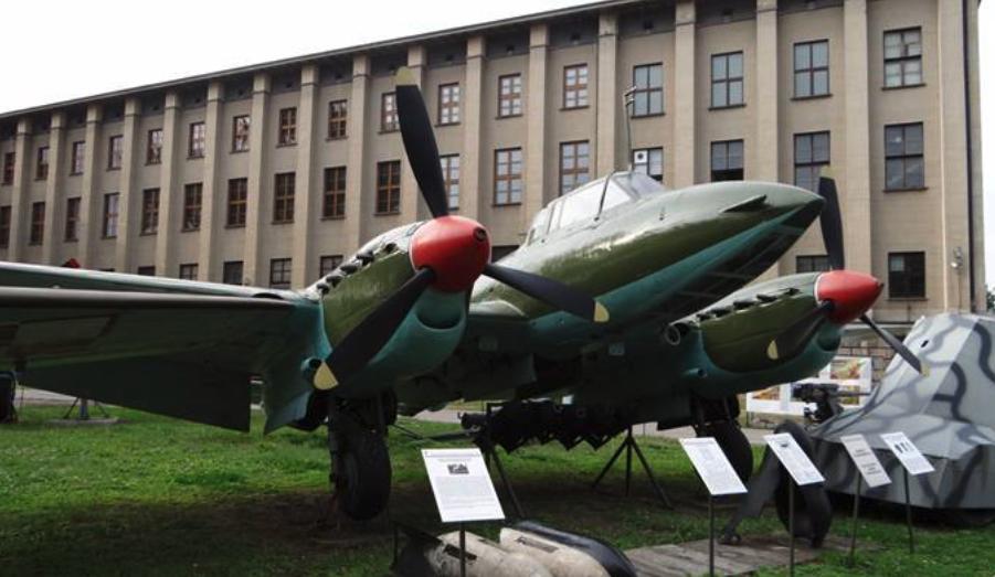 Pe-2 Muzeum Wojska Polskiego Warszawa 2012 rok. Zdjęcie Karol Placha Hetman