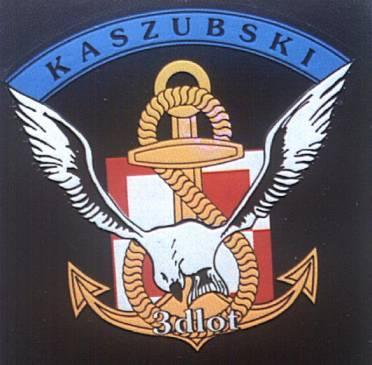 Godło 3 Dywizjonu Lotniczego – Kaszubski.