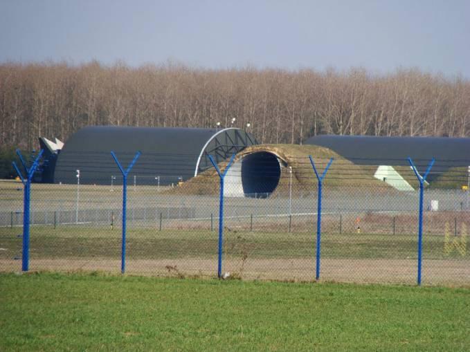 Fragment strefy rozśrodkowania dla F-16. 2010r.