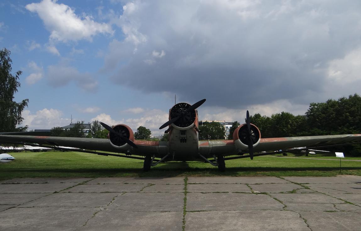 Ju-52 / Amiot AAC.1 Toucan w MLP. 2017 rok. Zdjęcie Karol Placha Hetman