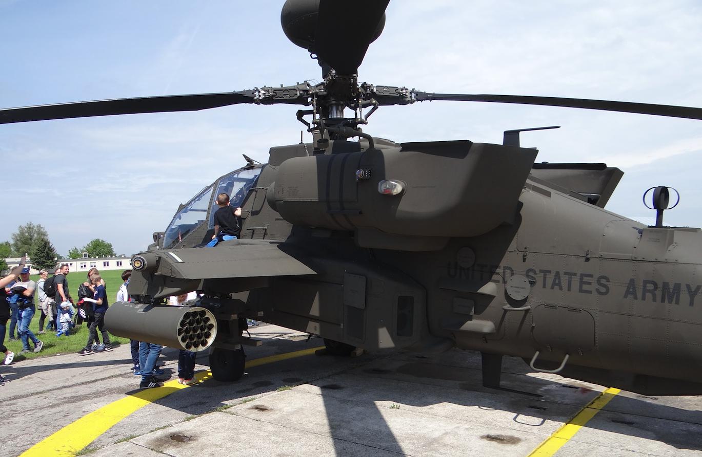 Boeing AH-64 Apache. Inowrocław. 2019. Photo by Karol Placha Hetman