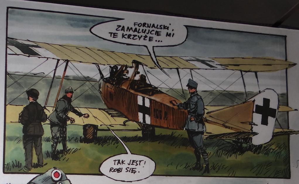 Albatros C.I w Muzeum Lotnictwa Polskiego - Czyżyny 2018 rok. Zdjęcie Karol Placha Hetman