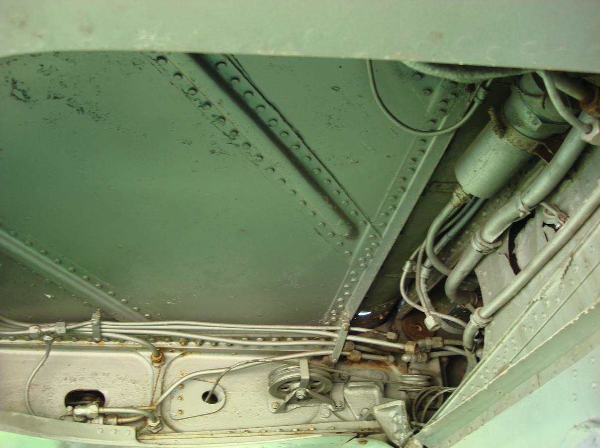Lim-5. Główne podwozie. 2007 rok. Zdjęcie Karol Placha Hetman