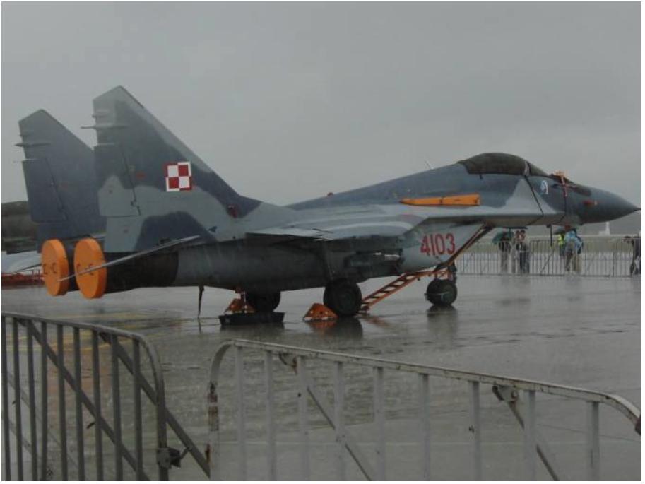 MiG-29 nb 4103. Krzesiny 2007 year. Photo by Karol Placha Hetman