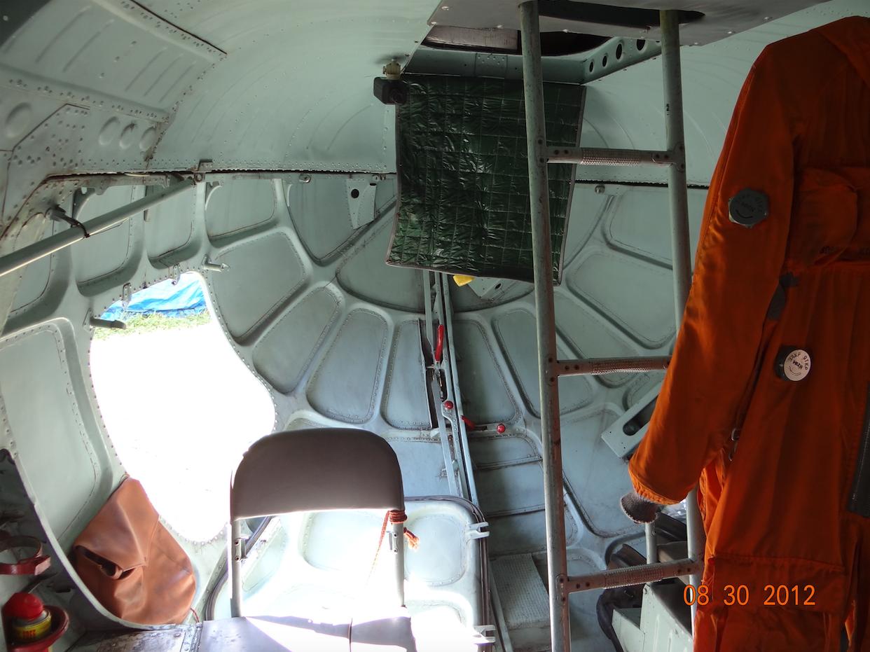 Ładownia śmigłowce Mi-8 T. Tylne wrota. 2012 rok. Zdjęcie Karol Placha Hetman