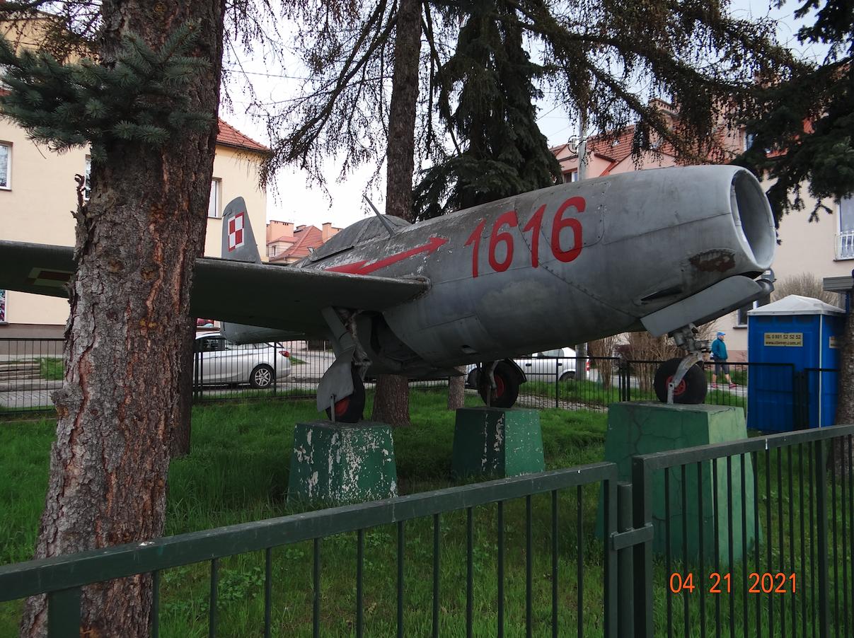 Jakowlew Jak-23. 2021 rok. Zdjęcie Karol Placha Hetman