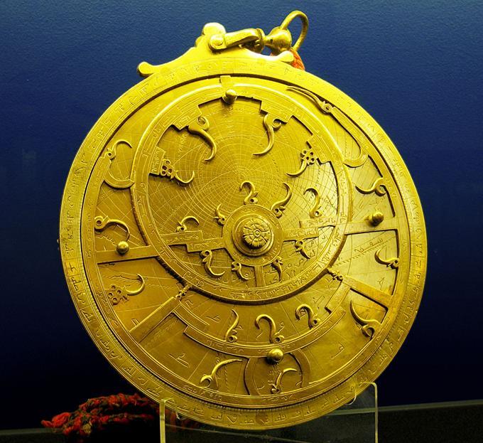 Astrolabium Perskie z XVII wieku. 2005r. Zdjęcie z Wikipedii