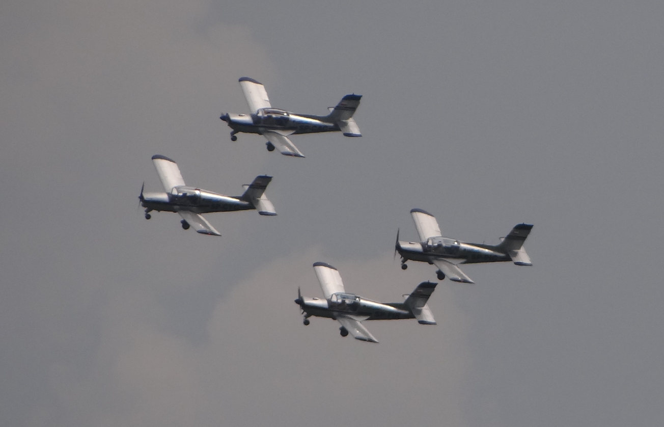 Cellfast Flying Team. 2021 rok. Zdjęcie Karol Placha Hetman