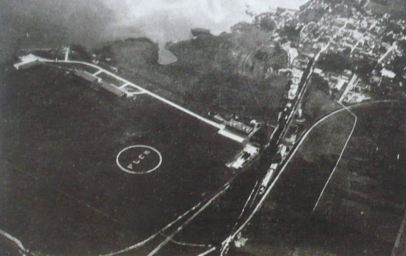 Base in Puck. 1926 year. Photo of LAC