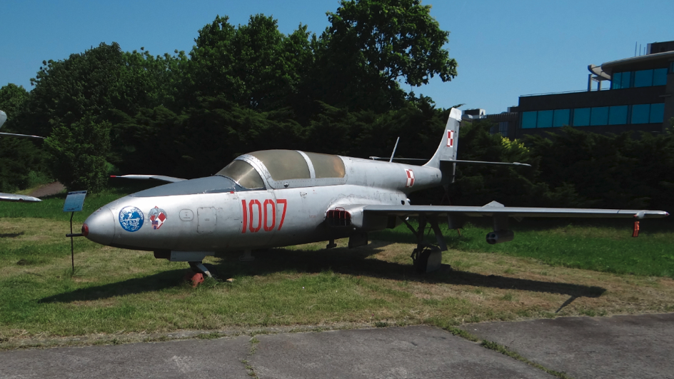 PZL TS-11 Iskra nb 1007. 2017 rok. Zdjęcie Karol Placha Hetman