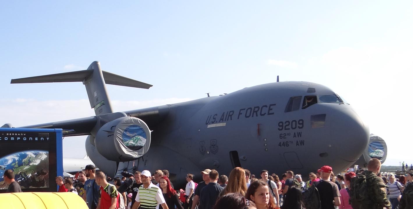 Boeing C-17 Globemaster III. 2018 rok. Zdjęcie Karol Placha Hetman