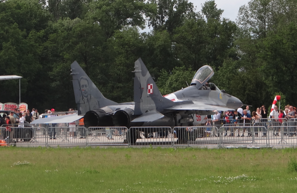 MiG-29 nb 56. 2014 rok. Zdjęcie Karol Placha Hetman