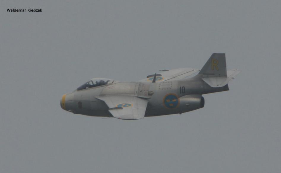 SAAB J-21 Tunnan. 2016 year. Photo by Waldemar Kiebzak