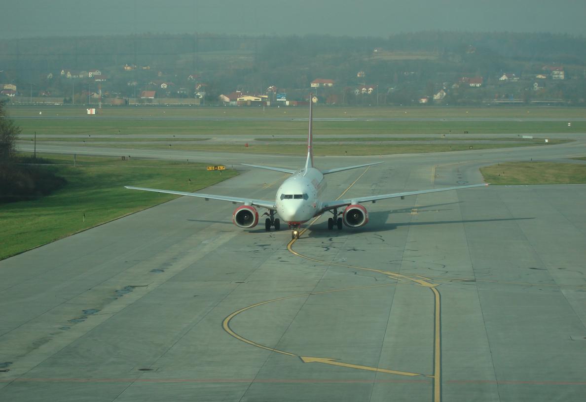 Boeing B.737. 2008 year. Photo by Karol Placha Hetman