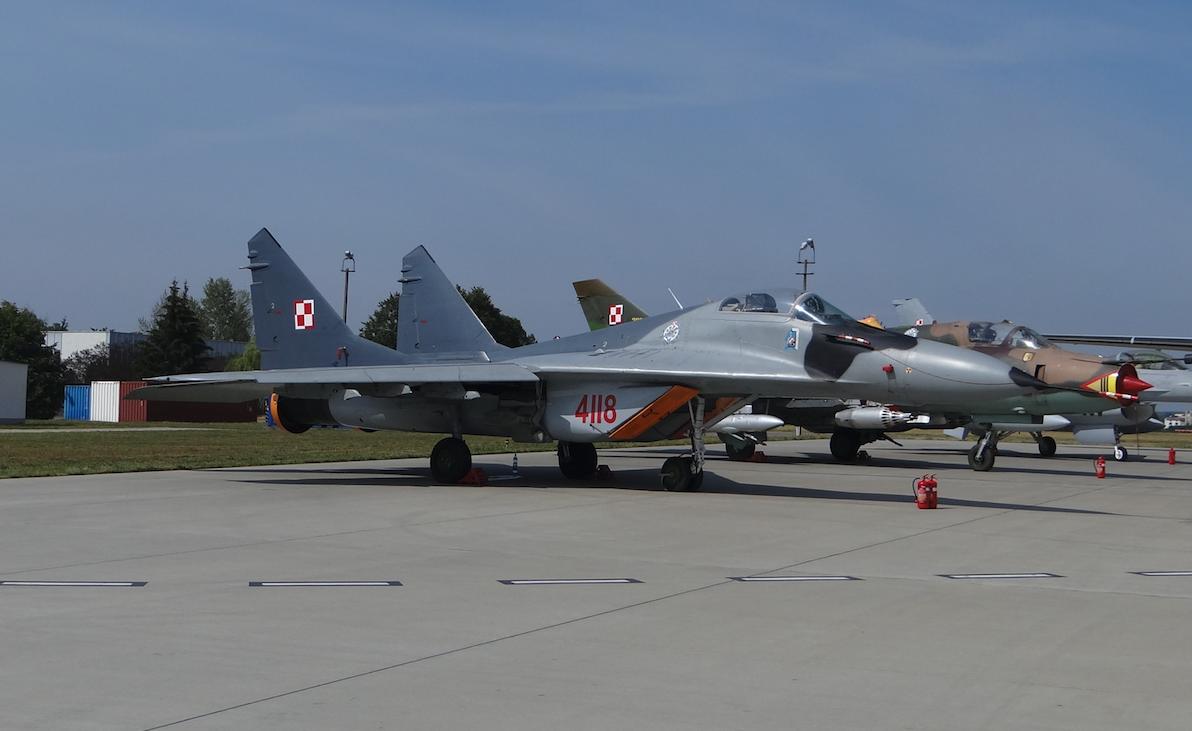 MiG-29 nb 4118. 2017. Photo by Karol Placha Hetman