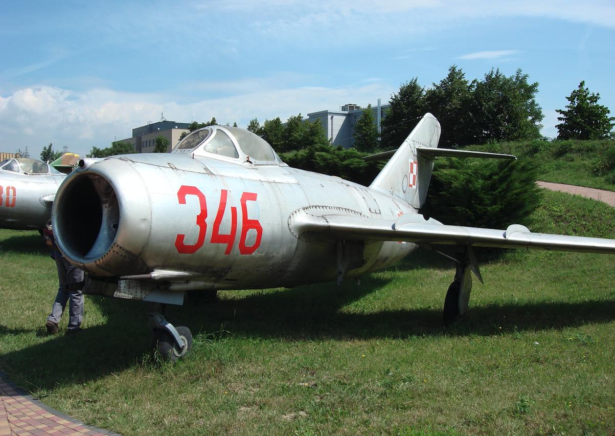 MiG-15 Lim-1 nb 346. 2007 rok. Zdjęcie Karol Placha Hetman