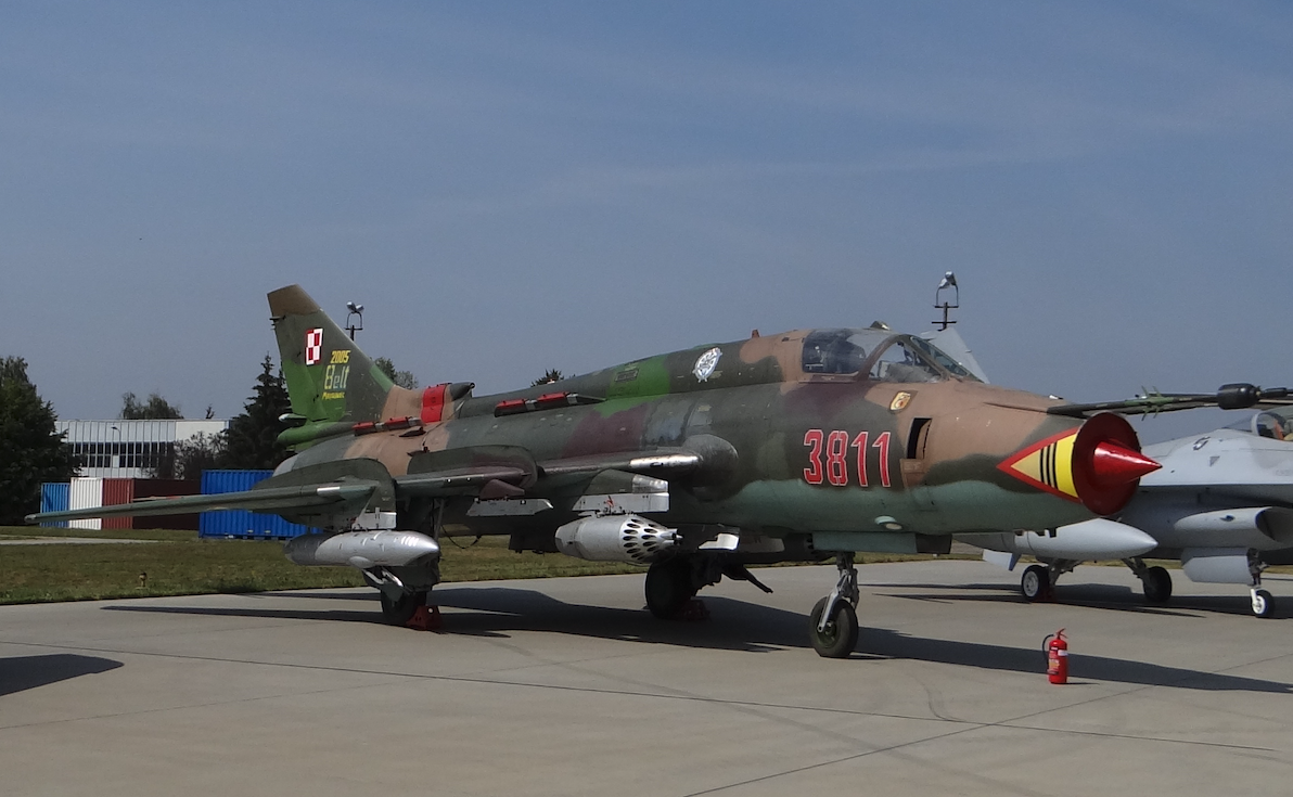 Su-22 nb 3811 used in Mirosławiec. 2017. Photo by Karol Placha Hetman