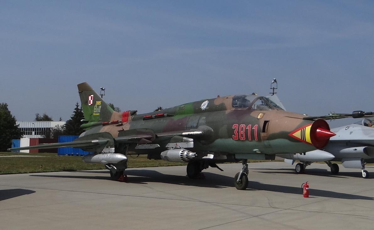 Su-22 M 4 K nb 3811. 2017 rok. Zdjęcie Karol Placha Hetman