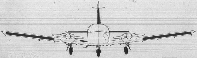 M-20 Mewa Widok od przodu. 1980r.