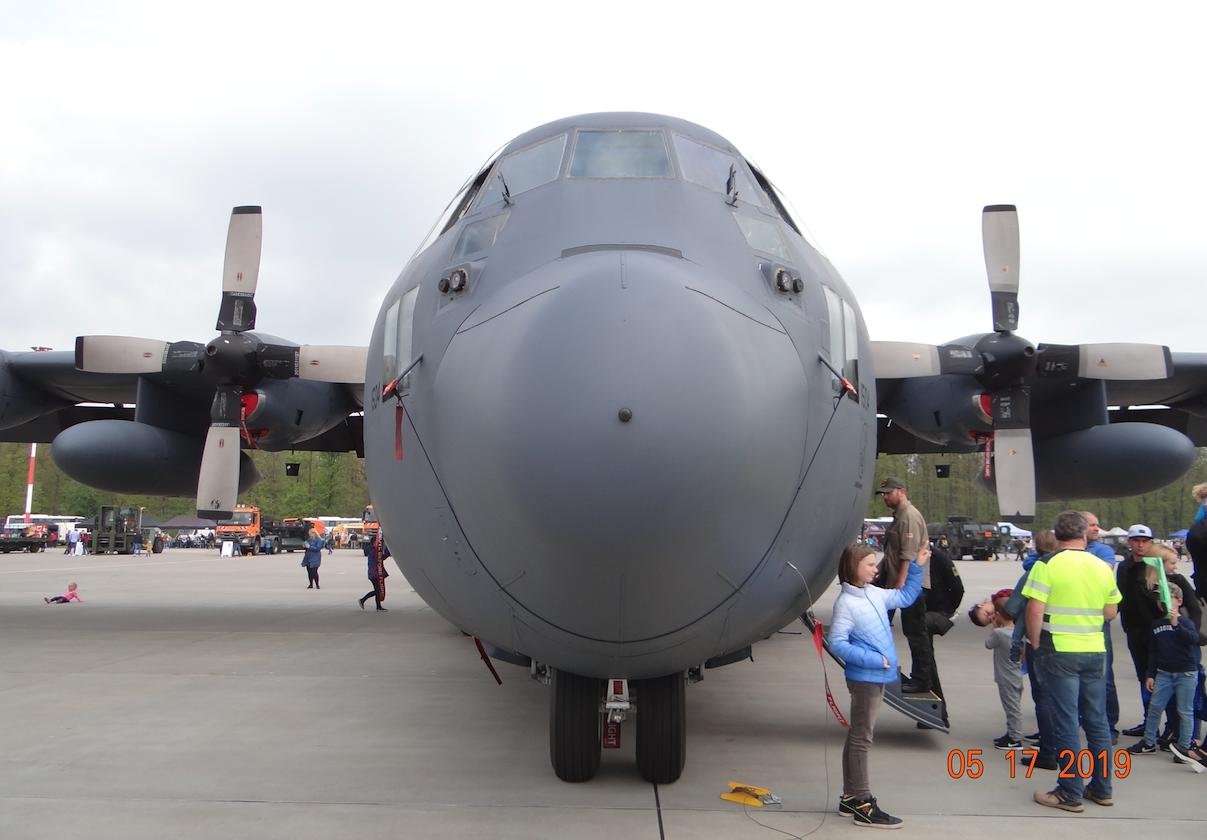 Lockheed C-130 E nb 1504. Powidz 2019. Photo by Karol Placha Hetman