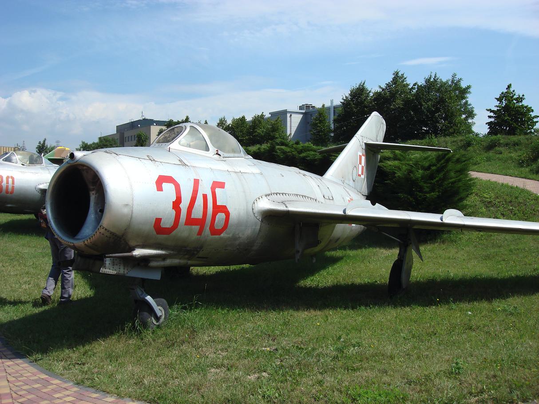 MiG-15 No 346. 2007 year. Photo by Karol Placha Hetman