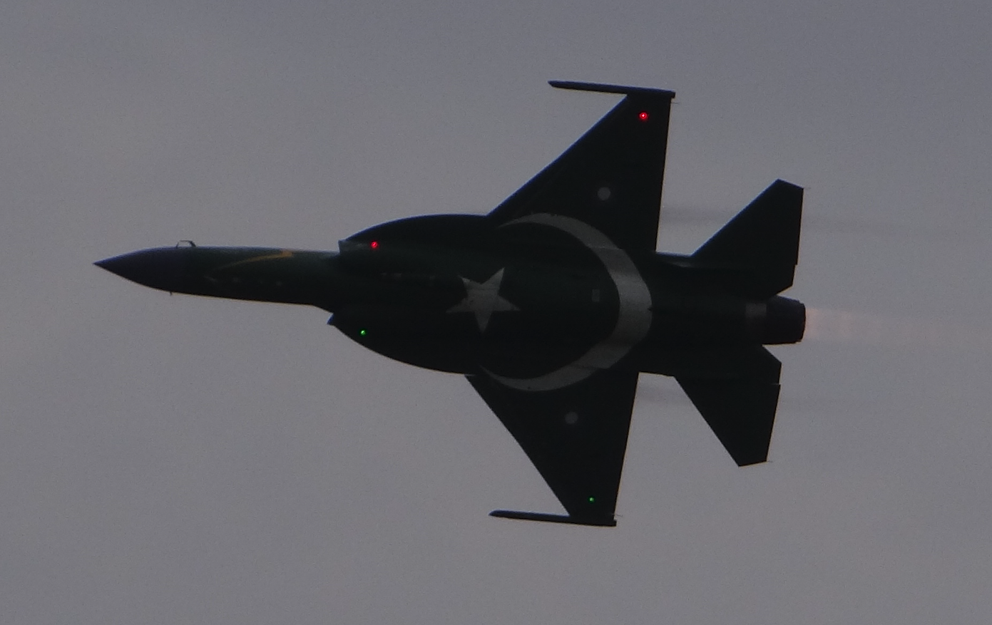 Pakistański JF-17. 2018 rok. Zdjęcie Karol Placha Hetman