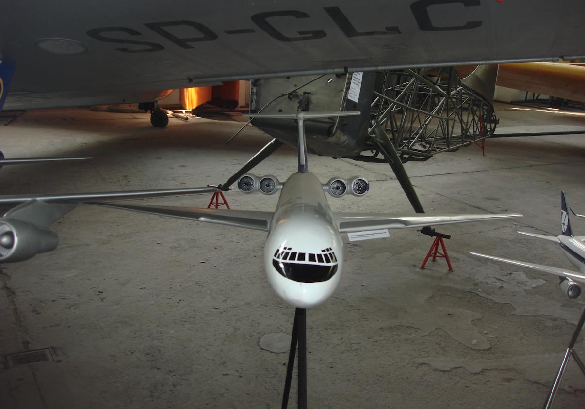 Il-62 model aircraft. 2009 year. Photo by Karol Placha Hetman