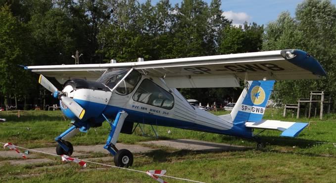 PZL-104 Wilga 35 rejestracja SP-GWB 2012r. Zdjęcie Karol Placha Hetman